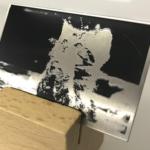 フィルムからの一貫製造     アクリル、ステンレス、アルミ板への銘板印刷